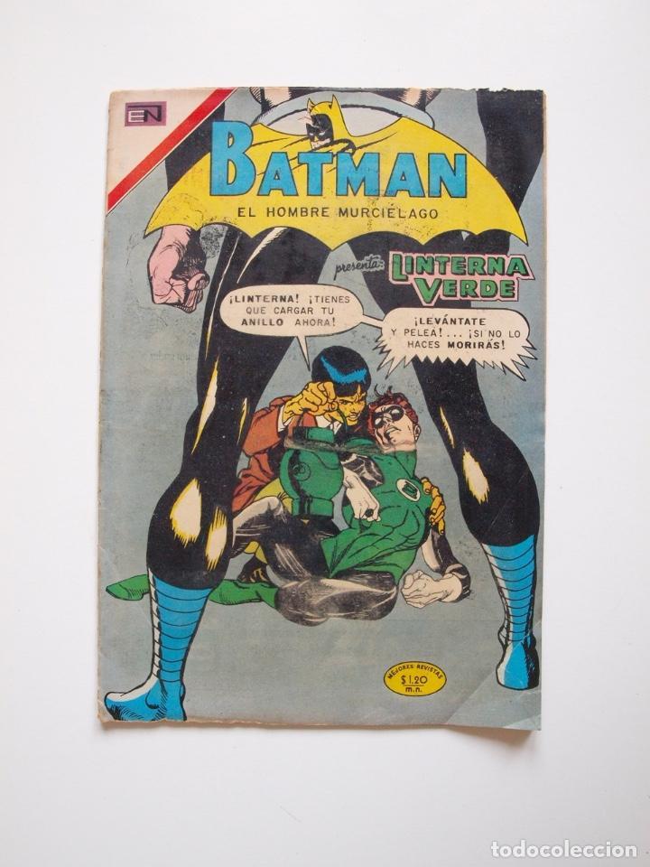 BATMAN Nº 587 - LINTERNA VERDE PERDIDO EN EL ESPACIO - GIL KANE - NOVARO 1971 (Tebeos y Comics - Novaro - Batman)
