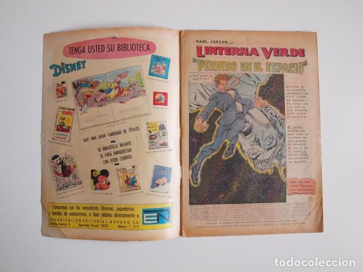 Tebeos: BATMAN Nº 587 - LINTERNA VERDE PERDIDO EN EL ESPACIO - GIL KANE - NOVARO 1971 - Foto 2 - 205806640