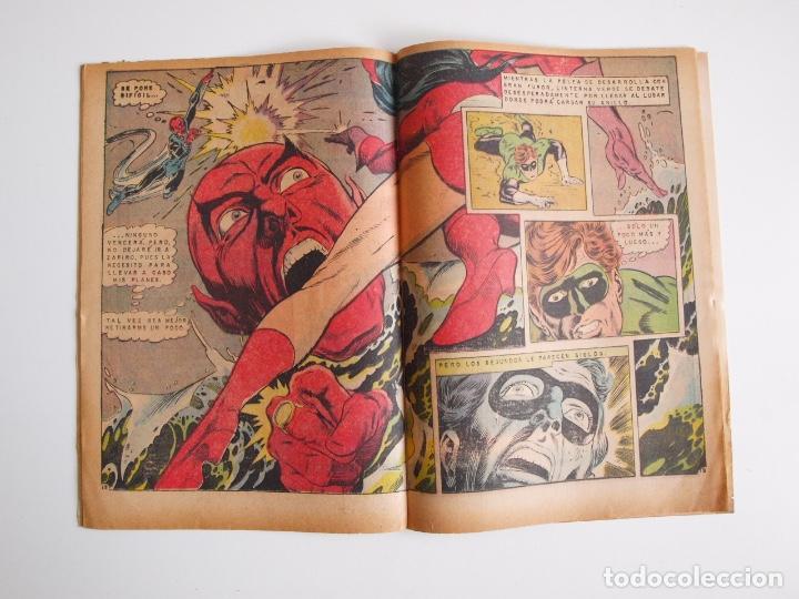Tebeos: BATMAN Nº 587 - LINTERNA VERDE PERDIDO EN EL ESPACIO - GIL KANE - NOVARO 1971 - Foto 4 - 205806640
