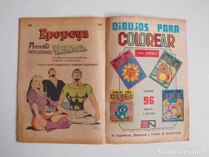 Tebeos: BATMAN Nº 587 - LINTERNA VERDE PERDIDO EN EL ESPACIO - GIL KANE - NOVARO 1971 - Foto 5 - 205806640