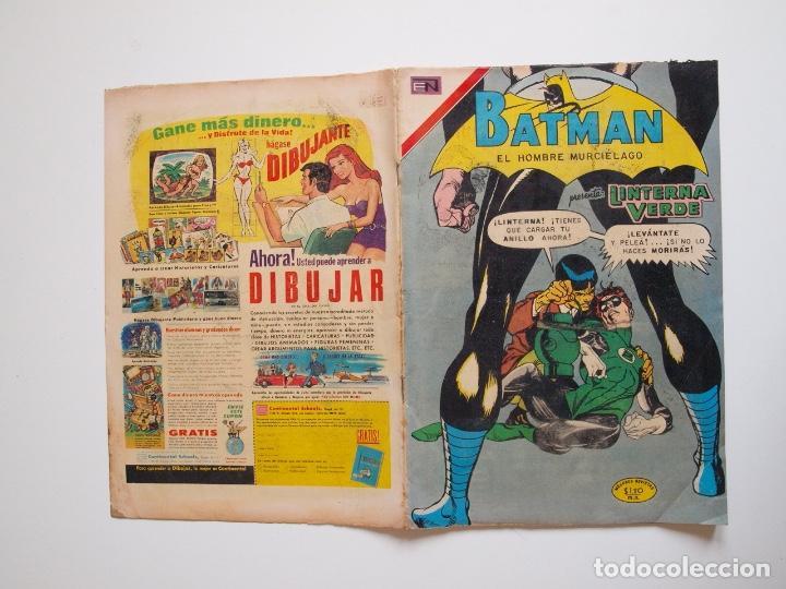 Tebeos: BATMAN Nº 587 - LINTERNA VERDE PERDIDO EN EL ESPACIO - GIL KANE - NOVARO 1971 - Foto 6 - 205806640