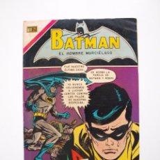 Tebeos: BATMAN Nº 554 - ROBIN, BATINIÑA - NOVARO 1970. Lote 205807738