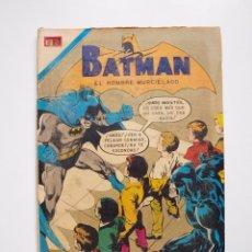 Tebeos: BATMAN Nº 588 - AL CONTAR 10... MORIRÁS - NOVARO 1971. Lote 205809831