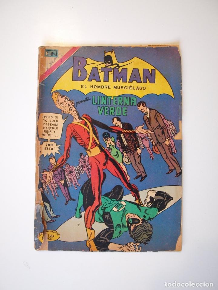 BATMAN Nº 565 - LINTERNA VERDE - NOVARO 1971 (Tebeos y Comics - Novaro - Batman)