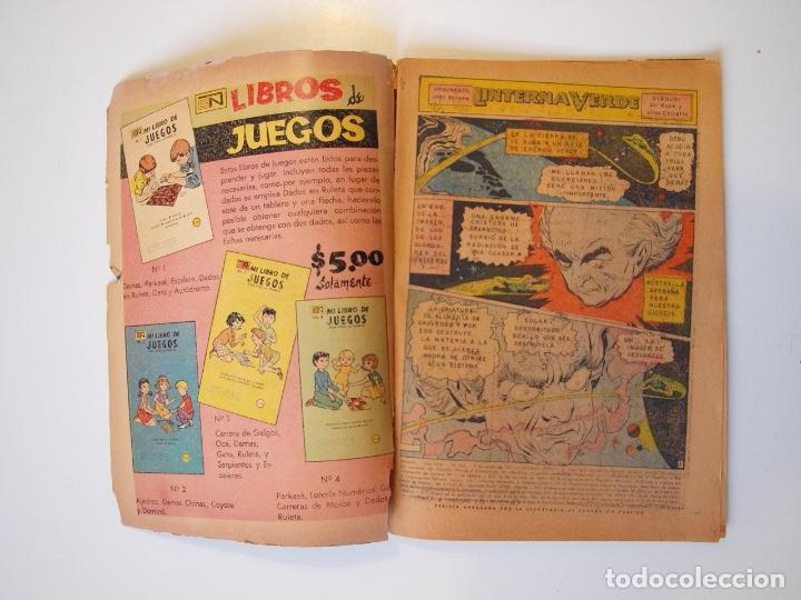 Tebeos: BATMAN Nº 565 - LINTERNA VERDE - NOVARO 1971 - Foto 2 - 205811591