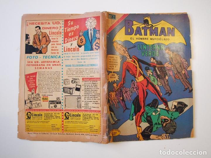 Tebeos: BATMAN Nº 565 - LINTERNA VERDE - NOVARO 1971 - Foto 5 - 205811591