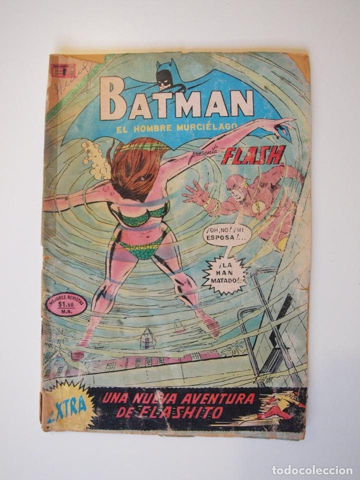 BATMAN Nº 616 - FLASH, FLASHITO - NOVARO 1972 (Tebeos y Comics - Novaro - Batman)