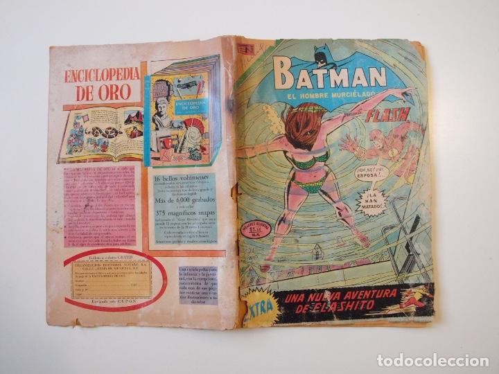 Tebeos: BATMAN Nº 616 - FLASH, FLASHITO - NOVARO 1972 - Foto 5 - 205821297