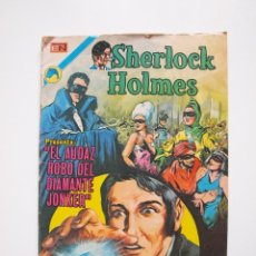 Tebeos: SHERLOCK HOLMES Nº 6 - EL AUDAZ ROBO DEL DIAMANTE JONKER - NOVARO 1973. Lote 205823628