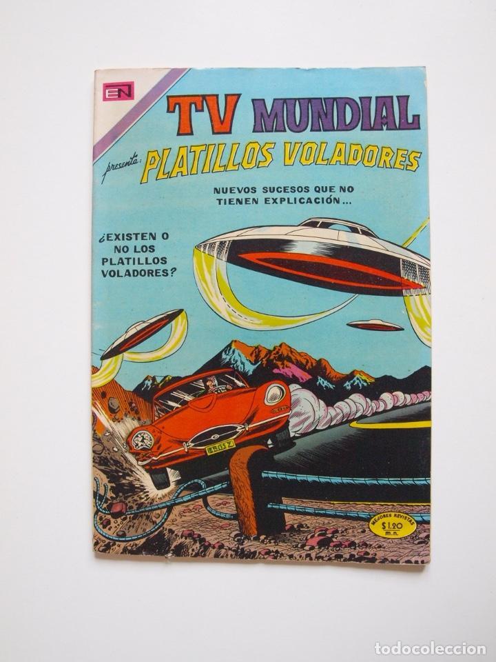 TV MUNDIAL Nº 188 - PLATILLOS VOLADORES - NOVARO 1971 - BE (Tebeos y Comics - Novaro - Otros)