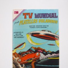 Tebeos: TV MUNDIAL Nº 188 - PLATILLOS VOLADORES - NOVARO 1971 - BE. Lote 205825178