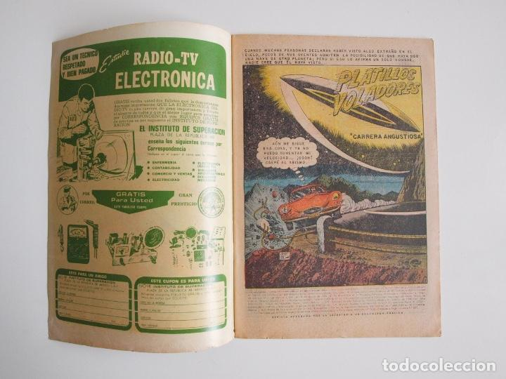 Tebeos: TV MUNDIAL Nº 188 - PLATILLOS VOLADORES - NOVARO 1971 - BE - Foto 2 - 205825178