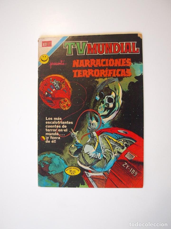 TV MUNDIAL Nº 232 - NARRACIONES TERRORÍFICAS - NOVARO 1972 (Tebeos y Comics - Novaro - Otros)