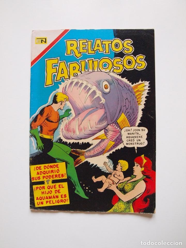 RELATOS FABULOSOS Nº 98 - AQUAMÁN, EL NACIMIENTO DE AQUANENE - NOVARO 1967 (Tebeos y Comics - Novaro - Otros)