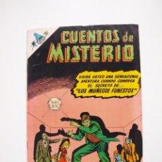 Tebeos: CUENTOS DE MISTERIO Nº 133 - LOS MUÑECOS FUNESTOS - NOVARO 1968. Lote 206143213