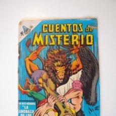Tebeos: CUENTOS DE MISTERIO Nº 134 - LA AMENAZA DE LOS HOMBRES LEONES - NOVARO 1968. Lote 206146217