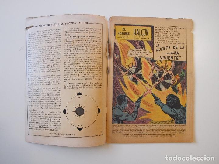 Tebeos: CUENTOS DE MISTERIO Nº 134 - LA AMENAZA DE LOS HOMBRES LEONES - NOVARO 1968 - Foto 2 - 206146217