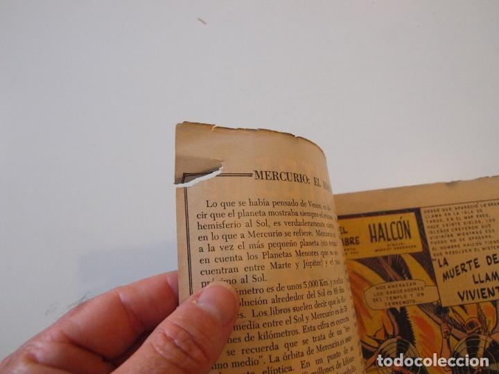 Tebeos: CUENTOS DE MISTERIO Nº 134 - LA AMENAZA DE LOS HOMBRES LEONES - NOVARO 1968 - Foto 3 - 206146217