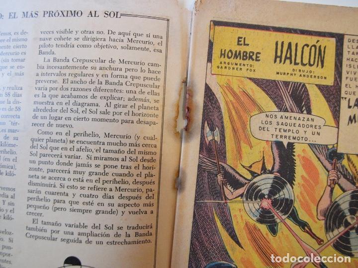 Tebeos: CUENTOS DE MISTERIO Nº 134 - LA AMENAZA DE LOS HOMBRES LEONES - NOVARO 1968 - Foto 4 - 206146217
