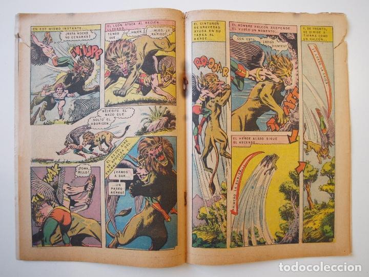 Tebeos: CUENTOS DE MISTERIO Nº 134 - LA AMENAZA DE LOS HOMBRES LEONES - NOVARO 1968 - Foto 6 - 206146217