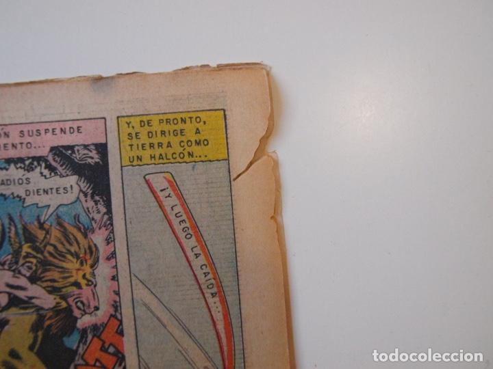 Tebeos: CUENTOS DE MISTERIO Nº 134 - LA AMENAZA DE LOS HOMBRES LEONES - NOVARO 1968 - Foto 7 - 206146217