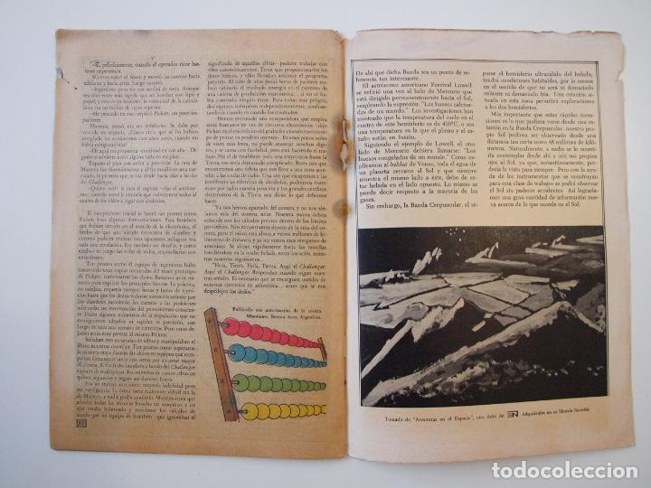 Tebeos: CUENTOS DE MISTERIO Nº 134 - LA AMENAZA DE LOS HOMBRES LEONES - NOVARO 1968 - Foto 8 - 206146217