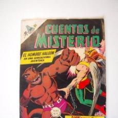 Tebeos: CUENTOS DE MISTERIO Nº 122 - EL HOMBRE HALCÓN, EL PLANETA PARÁSITO - NOVARO 1967. Lote 206147055