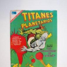 Tebeos: TITANES PLANETARIOS Nº 253 - ULTRA, EL HÉROE MÚLTIPLE: LOS DEVORADORES DE ENERGÍA - NOVARO 1967. Lote 206151542