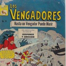 Tebeos: LOS VENGADORES: MARVEL - Nº 19, JUNIO 30 DE 1966 ** EDITORA DE PERIÓDICOS, S.C.L, LA PRENSA **. Lote 206152037