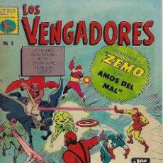 Tebeos: LOS VENGADORES: MARVEL - Nº 4, OCTUBRE 31 DE 1965 ** EDITORA DE PERIÓDICOS, S.C.L, LA PRENSA **. Lote 206152212