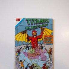 Tebeos: TITANES PLANETARIOS Nº 2-418 - LA AMENAZA DEL GLOBO TERRÁQUEO - SERIE ÁGUILA - NOVARO 1978. Lote 206154713