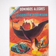 Tebeos: DOMINGOS ALEGRES Nº 723 - LA FAMILIA ROBINSON - RÍO DE FUEGO - NOVARO 1968. Lote 206179758