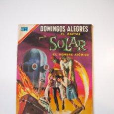 Tebeos: DOMINGOS ALEGRES Nº 833 - EL DOCTOR SOLAR - EL HOMBRE ATÓMICO - NOVARO 1970. Lote 206181475