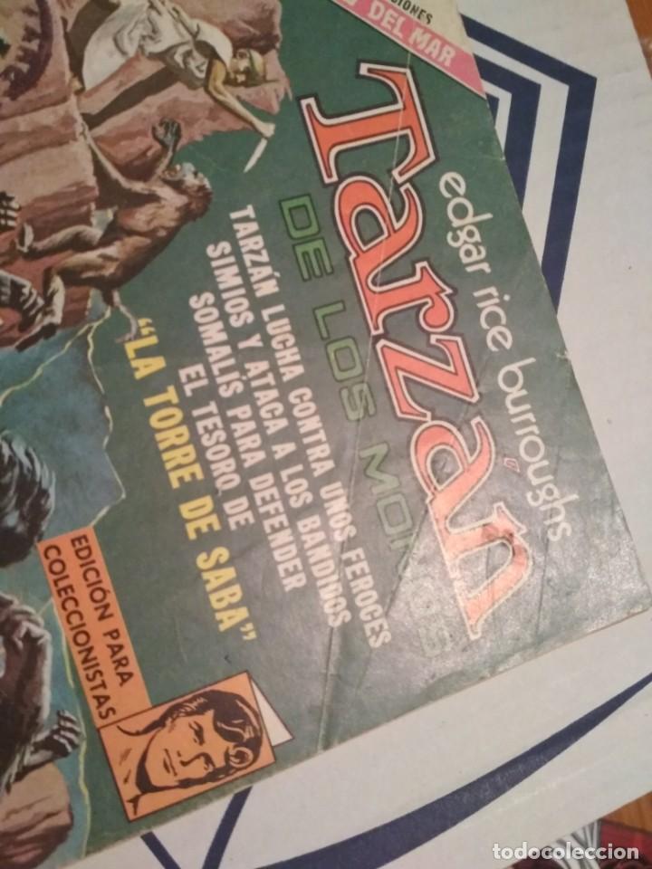 Tebeos: EDGAR RICE BURROUGHS TARZAN DE LOS MONOS 350 AÑO 1973 NOVARO NO FORUM - Foto 2 - 206189712