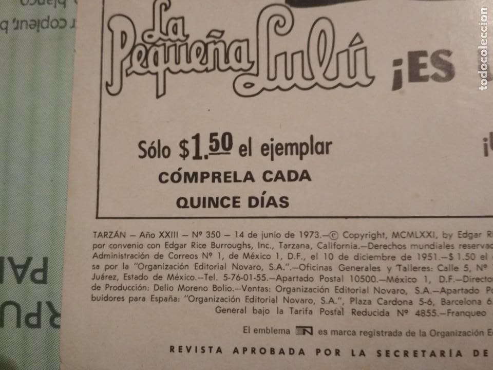 Tebeos: EDGAR RICE BURROUGHS TARZAN DE LOS MONOS 350 AÑO 1973 NOVARO NO FORUM - Foto 4 - 206189712
