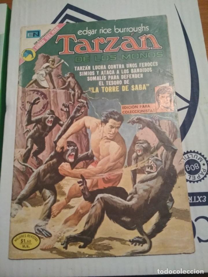 EDGAR RICE BURROUGHS TARZAN DE LOS MONOS 350 AÑO 1973 NOVARO NO FORUM (Tebeos y Comics - Novaro - Tarzán)
