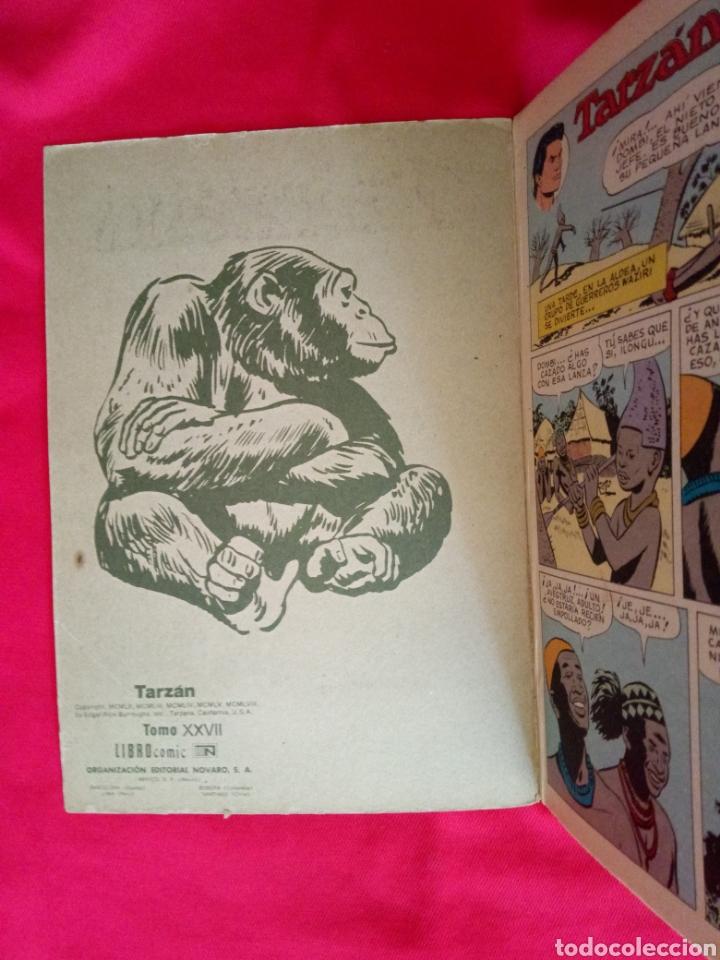 Tebeos: TARZÁN LIBROCOMIC EDITORIAL NOVARO TOMO XXVII Años 70 - Foto 4 - 206351443