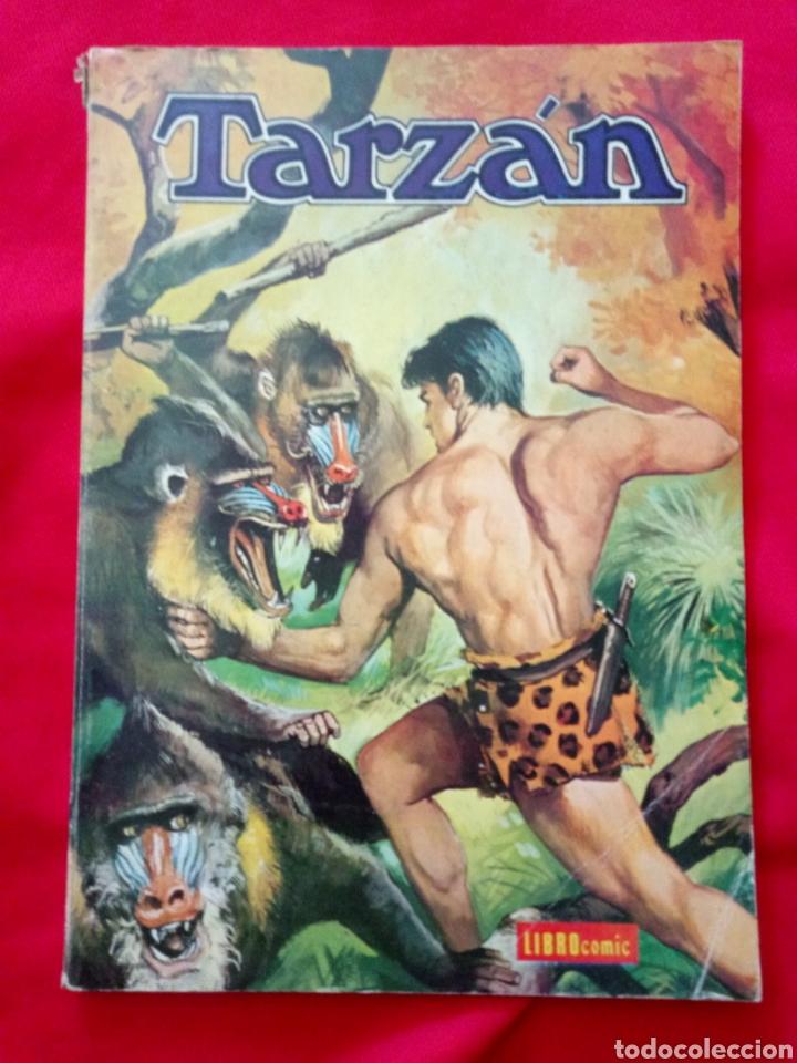 TARZÁN LIBROCOMIC EDITORIAL NOVARO TOMO XXVII AÑOS 70 (Tebeos y Comics - Novaro - Tarzán)