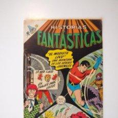 Tebeos: HISTORIAS FANTÁSTICAS Nº 199 - LOS HÉROES JUVENILES - EL MODISTA LOCO - NOVARO 1968. Lote 206386288