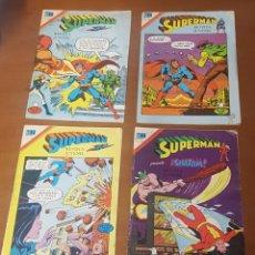 Tebeos: EDITORIAL NOVARO SERIE ÁGUILA LOTE DE 14 COMICS SUPERMAN, BATMAN, AVENTURA. Lote 206454610