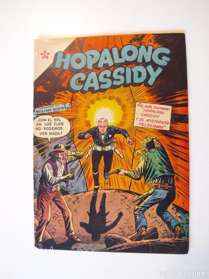 HOPALONG CASSIDY Nº 28 - EL MISTERIOSO TELEGRAMA - ER - NOVARO 1956 (Tebeos y Comics - Novaro - Hopalong Cassidy)