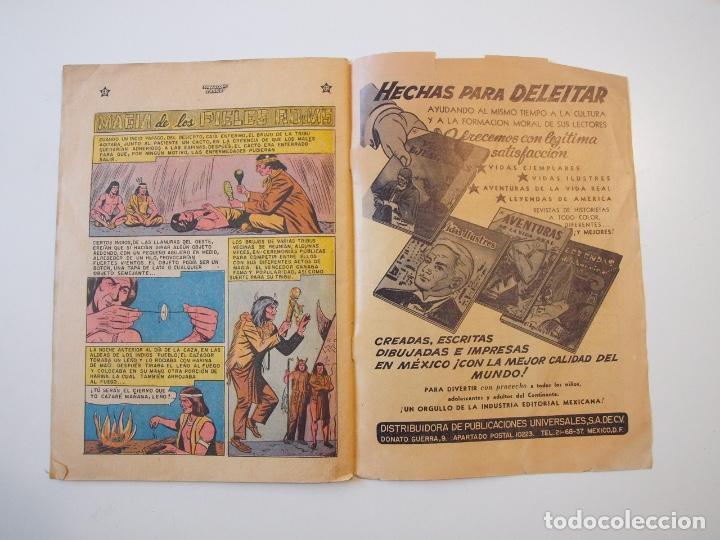 Tebeos: HOPALONG CASSIDY Nº 28 - EL MISTERIOSO TELEGRAMA - ER - NOVARO 1956 - Foto 4 - 206825288