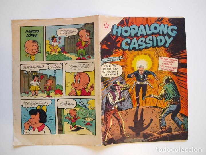 Tebeos: HOPALONG CASSIDY Nº 28 - EL MISTERIOSO TELEGRAMA - ER - NOVARO 1956 - Foto 5 - 206825288