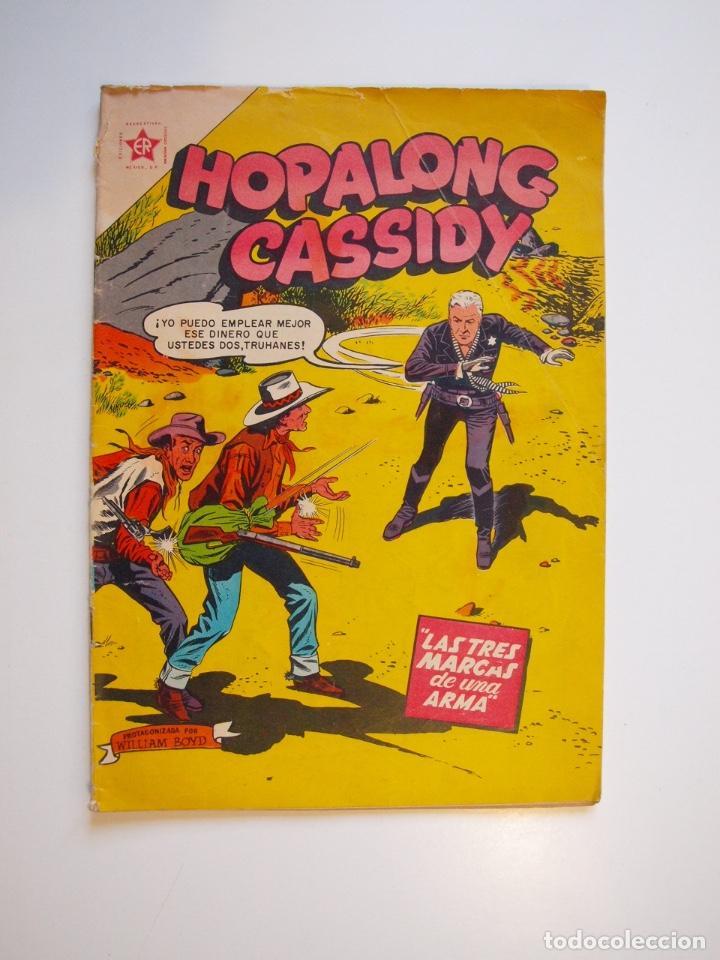 HOPALONG CASSIDY Nº 31 - LAS TRES MARCAS DE UNA ARMA - ER - NOVARO 1956 (Tebeos y Comics - Novaro - Hopalong Cassidy)