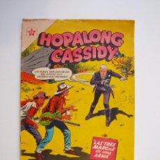 Tebeos: HOPALONG CASSIDY Nº 31 - LAS TRES MARCAS DE UNA ARMA - ER - NOVARO 1956. Lote 206825818