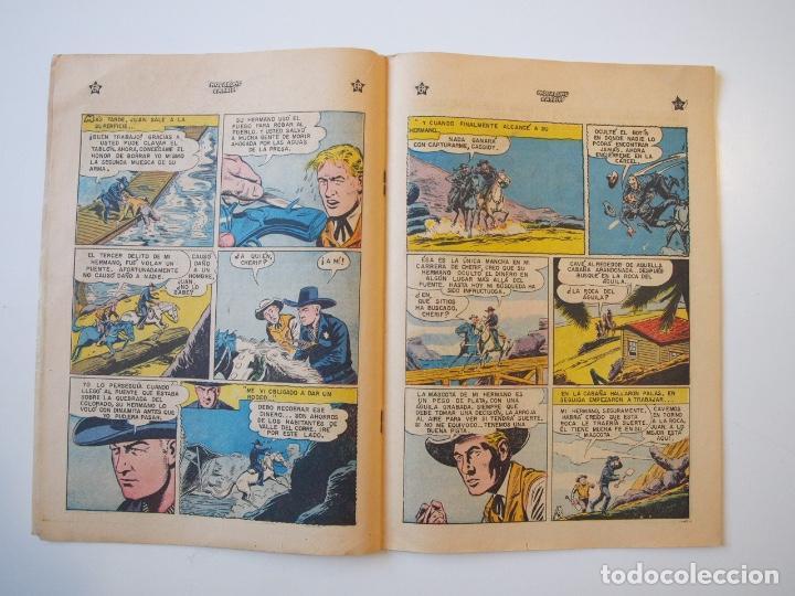 Tebeos: HOPALONG CASSIDY Nº 31 - LAS TRES MARCAS DE UNA ARMA - ER - NOVARO 1956 - Foto 3 - 206825818