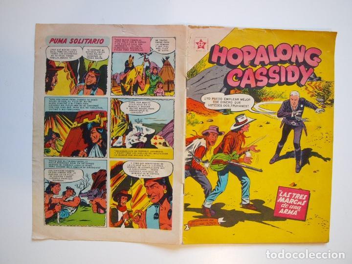 Tebeos: HOPALONG CASSIDY Nº 31 - LAS TRES MARCAS DE UNA ARMA - ER - NOVARO 1956 - Foto 5 - 206825818