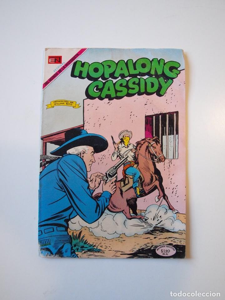 HOPALONG CASSIDY Nº 178 - EL MUCHACHO JUSTICIERO - NOVARO 1969 (Tebeos y Comics - Novaro - Hopalong Cassidy)