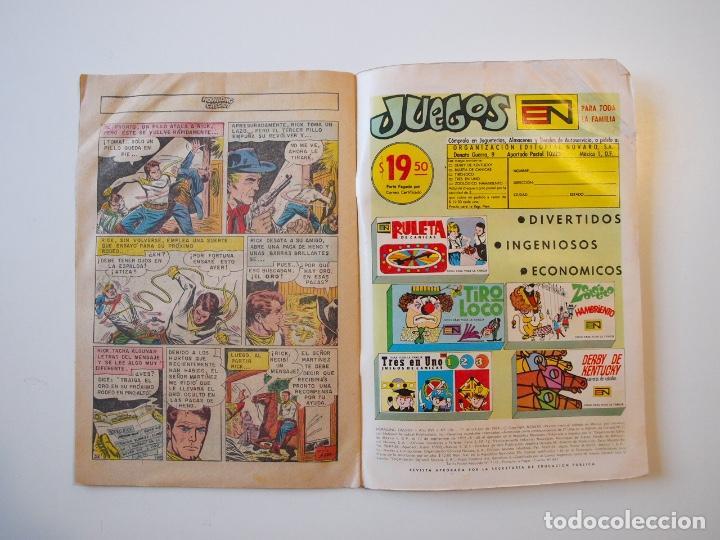 Tebeos: HOPALONG CASSIDY Nº 178 - EL MUCHACHO JUSTICIERO - NOVARO 1969 - Foto 4 - 206826428