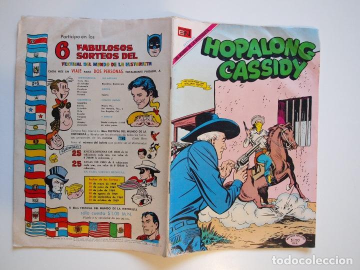 Tebeos: HOPALONG CASSIDY Nº 178 - EL MUCHACHO JUSTICIERO - NOVARO 1969 - Foto 5 - 206826428